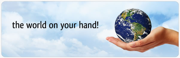 WORLD ON YOUR HAND